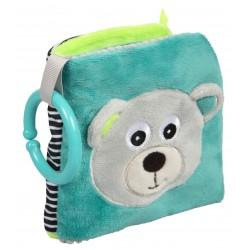 Babies pliušinė knygutė Bears grey
