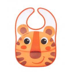 Babies vandeniui nepralaidus seilinukas su kišene Hello Little oranžinis ora