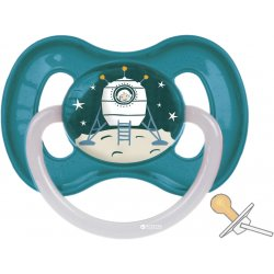 Čiulptukas lateksinis apvalus Kosmo 0-6 mėn. blu