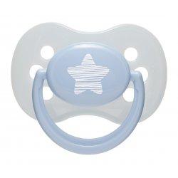 Čiulptukas silikoninis apvalus Pastelove 0-6 mėn.