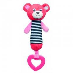 Minkštas žaislas su kramtuku Bears Coral cor