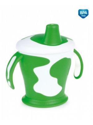 Neišipilantis puodelis su rankenom Cow 9m+ 250ml