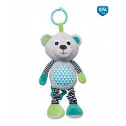 Pakabinamas muzikinis žaislas Bears Grey grey
