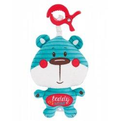 Pakabinamas muzikinis žaislas Forest Friends blue bear