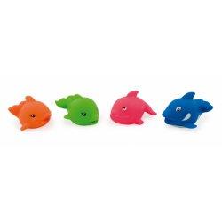 Žaislai vonios - žuvis ir delfinai