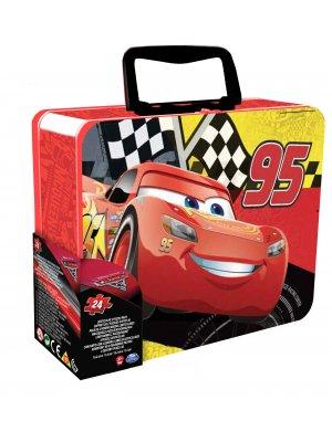 Cardinal GAMES dėlionė 3D 24d. metalinėje dėž. Cars3
