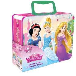Cardinal GAMES dėlionė 3D 48d. metalinėje dėž. Disney Princess