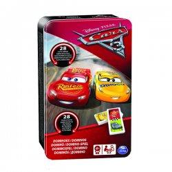 Cardinal GAMES domino metalinėje dėž. Cars3