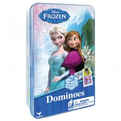 Cardinal GAMES domino metalinėje dėž. Frozen