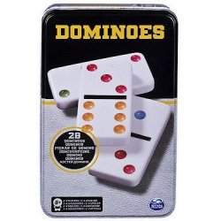 Cardinal GAMES žaidimas Domino metalinėje dėžutėje