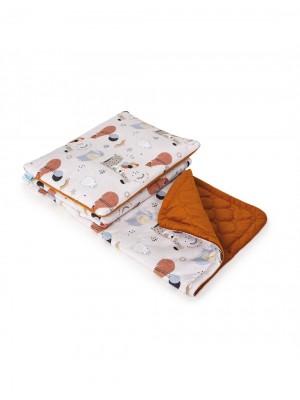 Pledas (100x140cm) + pagalvė (40x50cm) Animals Party