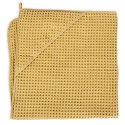 Rankšluostis 100x100cm Waffle Line Cream Gold