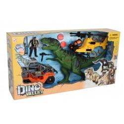 Chap MEI rinkinys Dino Valley T-Rex Revenge Playset