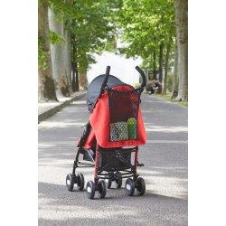 Tinklinis krepšys vežimėliui