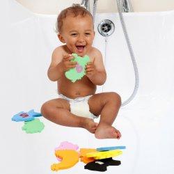 Žaislai vonios su dėkliuku
