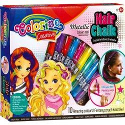 Colorino CREATIVE kreidelės plaukams spalvų 68635PTR