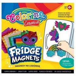 Colorino CREATIVE šaldytuvo magnetukų rinkinys 91411PTR
