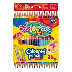 Colorino CREATIVE Triangular coloured pencils pcs36 colours 68512PTR