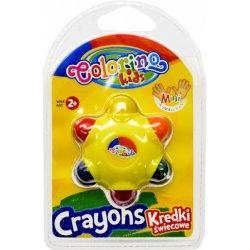 Colorino KIDS vaškinės kreidelės Star spalvos 33015PTR