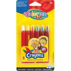 Colorino KIDS veido puošybos kreidelės spalvos 32629PTR