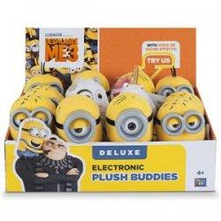 Despicable ME elektroninis pliušinis žaislas 13cm Deluxe Buddies