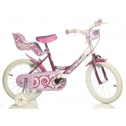 Dino BIKES dviratis 16'' LITTLE HEART RN