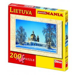 Dėlionė 200d. Lietuvos Pažaislio vienuolynas