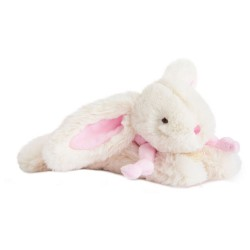 Doudou ET COMPAGNIE minkštas žaislas Zuikis Bonbon cm pink