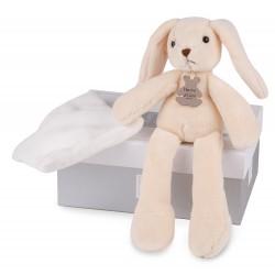 Doudou ET COMPAGNIE pliušinis žaislas (pelytė triušiukas meškiukas) asort cm HO2315
