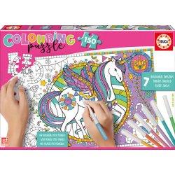 Spalvinimo dėlionė Kids unicorn 150vnt .