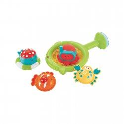 Vonios žaislų su sieteliu rinkinys