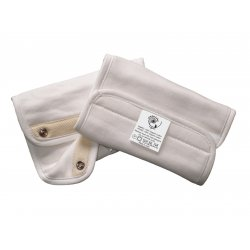 Seilinukai nešioklei 2vnt  Organic Pad Natural TPONPNL