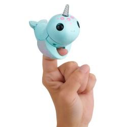 Fingerlings elektroninis žaislas banginis Nikki turkio spalvos