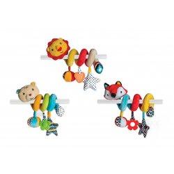 Fisher PRICE pakabinamas minštas žaislas spiralė