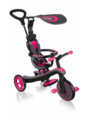 Paspirtukas Trike Explorer 4in1 pink 632-110