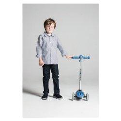 Priekinė dviračio lemputė mėlyna Mini hornit 525-100