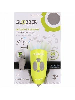 Priekinė dviračio lemputė žalia Mini hornit 525-106