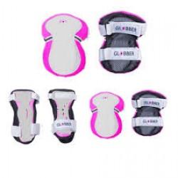 Rinkinys kelių ir alkūnių apsaugų rožinis Junior XXS RANGE A ( 25KG ) 540-110