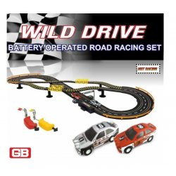 Golden BRIGHT rinkinys lenktynių trasa WILD DRIVE