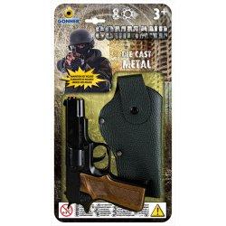 Gonher pistoletas šovinių su dėklu