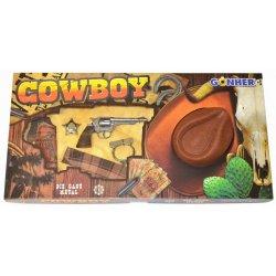 Gonher rinkinys kaubojaus ginklai ir skrybėlė