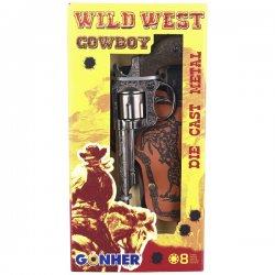 Gonher rinkinys kaubojaus ginklų WILD-WEST