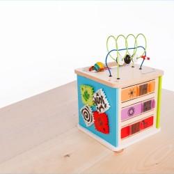 Hape Baby Einstein's lavinamasis žaislas Lavinamasis kubas