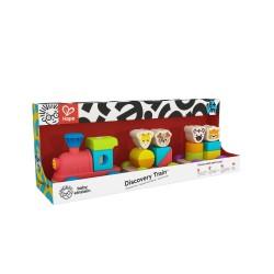 Hape Baby Einstein's stumdomas žaislas Medinis traukinukas