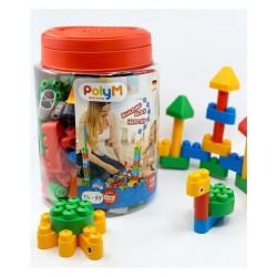Konstruktoriaus rinkinys PolyM Building Block