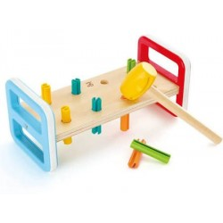 Lavinanamis žaislas Spalvingas grūstuvėlis E0506B