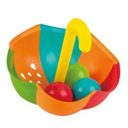 Vonios žaislas Skėtis su kamuoliukais E0206