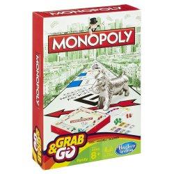 Hasbro GAMING kelioninis žaidimas Monopoly B1002