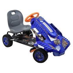 Keturratis pedalinis mėlynas Nerf Striker Go Cart T91910