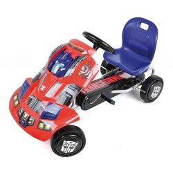 Keturratis pedalinis Transformer Go-Cart Optimus T90401